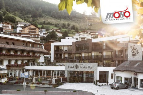 MoHo Motorrad- & Spa Hotel Traube Post am Reschensee****